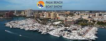 March 28-31st - Palm Beach Boat Show